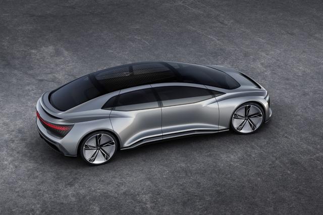 Audi-Studien zum autonomen Fahren  - Gestatten: Elaine und Aicon