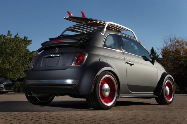 Fiat 500 Beach Cruiser - Auf der Surfer-Welle