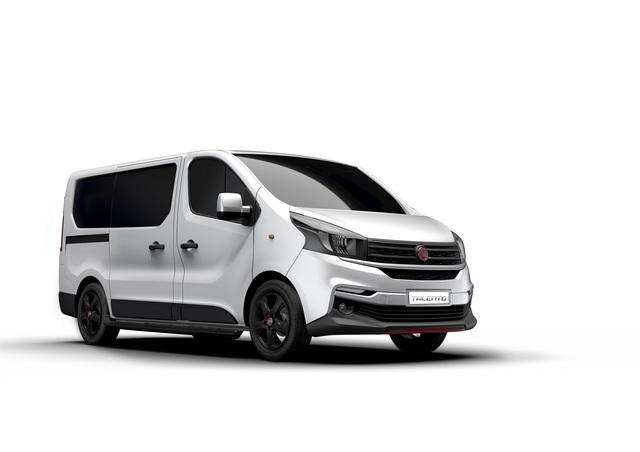 Sondermodell Fiat Talento Sportivo - Kubus mit Kraftoptik
