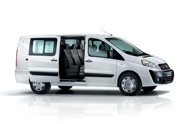 Fiat Scudo Shuttle - Günstiger Personentransporter