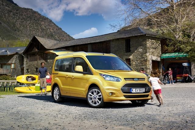 Ford Tourneo Connect - Für Kind und Kegel