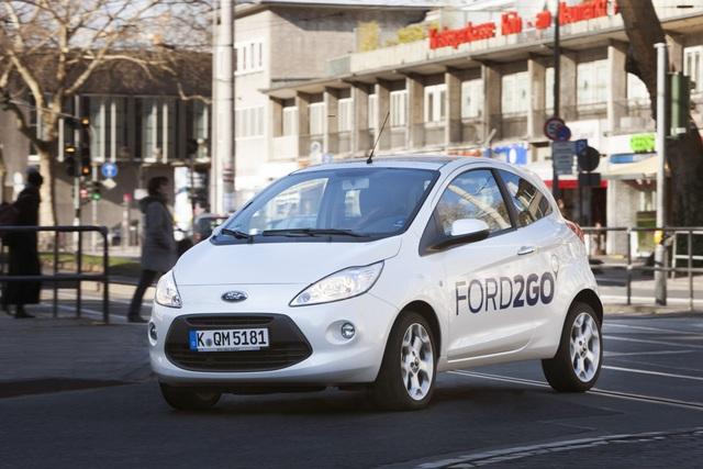 Carsharing - Ford kooperiert mit der Deutschen Bahn