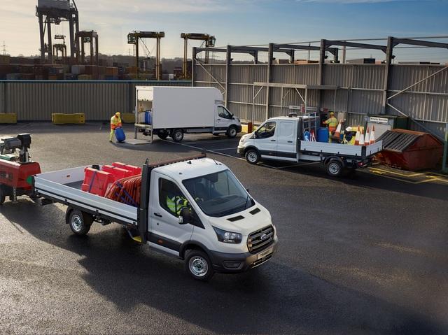 Ford Transit - Automatik für hohe Anhängelasten