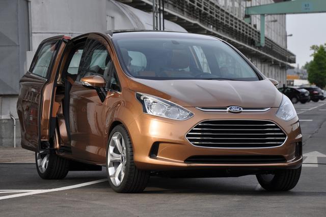 Ford B-Max - Dynamik statt Kante