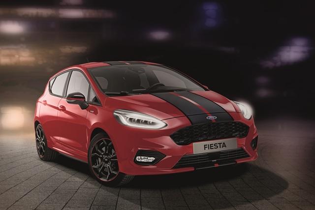 Ford Fiesta Sondermodelle - Schwarz, schnell, rot
