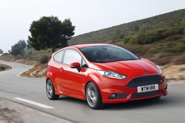 Ford Fiesta ST - Vorbote für Fahrspaß