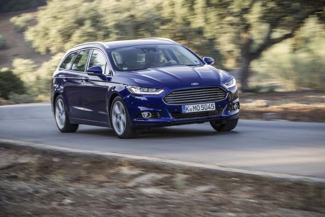 Ford Mondeo, S-Max und Galaxy - Sparsamere Diesel, besseres Infotainment