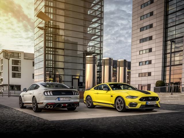 Ford Mustang Mach 1 - Kraftpaket kommt