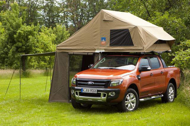 Ford Ranger Camping - Geländegängiges Zeltmobil