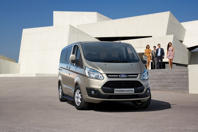 Ford Transit Custom - Malocher mit Komfortanspruch