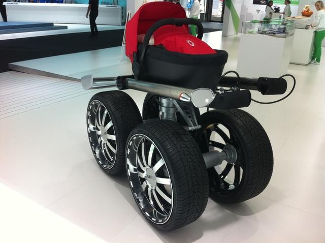Skodas Kinderwagen - Früh übt sich