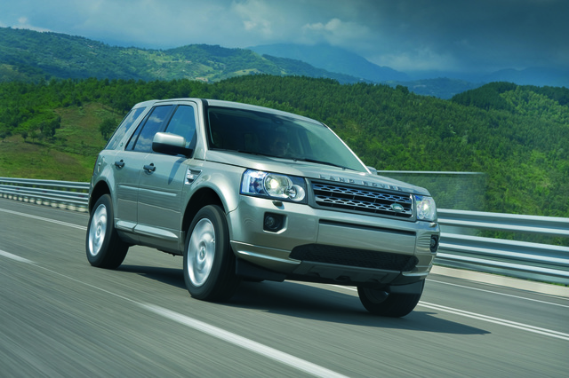 Land Rover Freelander erstmals mit reinem Frontantrieb