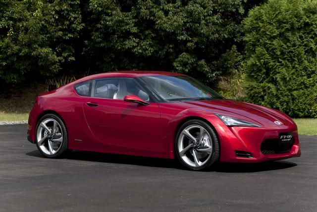 Projekt FT-86: Bald sticht auch Toyota wieder im Auto-Quartett