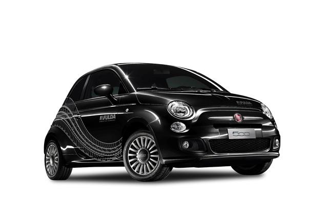 Fiat 500 und 500 C im Fulda-Design - Schwarz abgesetzt