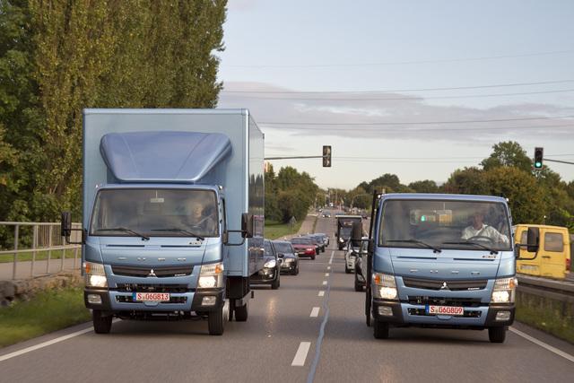 Daimler Fuso Canter - Mehr Zuladung, leichter fahren