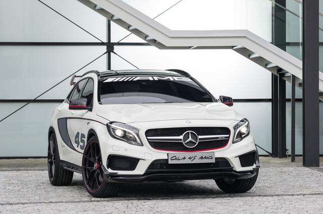 Mercedes Concept GLA 45 AMG - Grüne Hölle statt Stadtverkehr