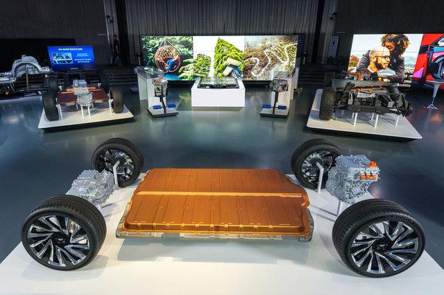 Honda-Elektroautos   - Mit Akku und Antrieb von GM