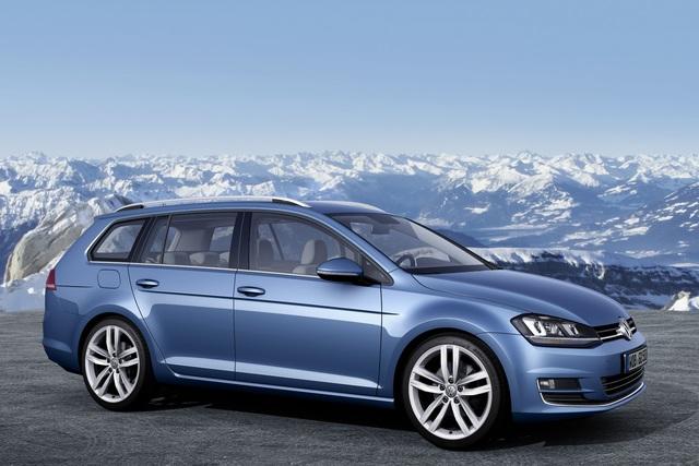VW Golf Variant und Blue Motion - Passat-Größe und Up-Verbrauchswerte (Kurzfassung)