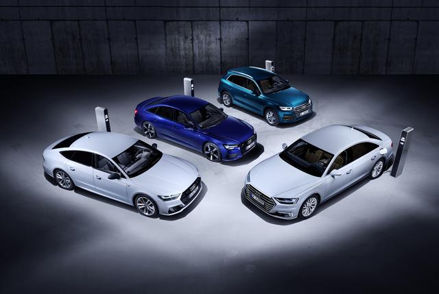 Audi mit neuen Plug-in-Hybriden - Strom für mehr als 40 Kilometer