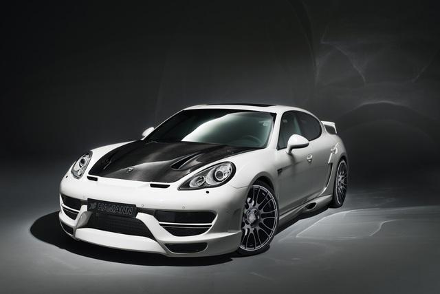 Porsche Panamera Hamann Cyrano - In Szene gesetzt