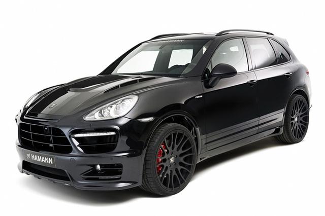 Porsche Tuning Hamann - Cayenne wird bulliger