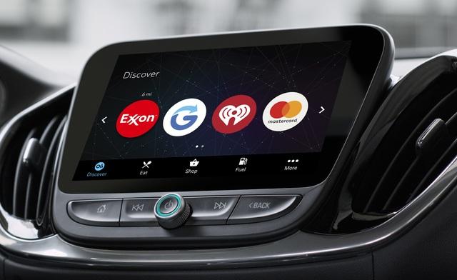 Werbung im Auto - Shopping-Tipps am Steuer