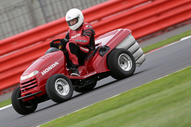 Honda Mean Mower - Rekordrenner für Rasenraser