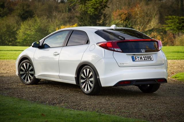 Honda Civic 2014 - Neues Jahr, neues Heck