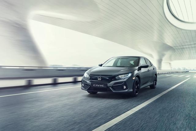 Honda Civic Modelljahr 2020 - Kleines Upgrade
