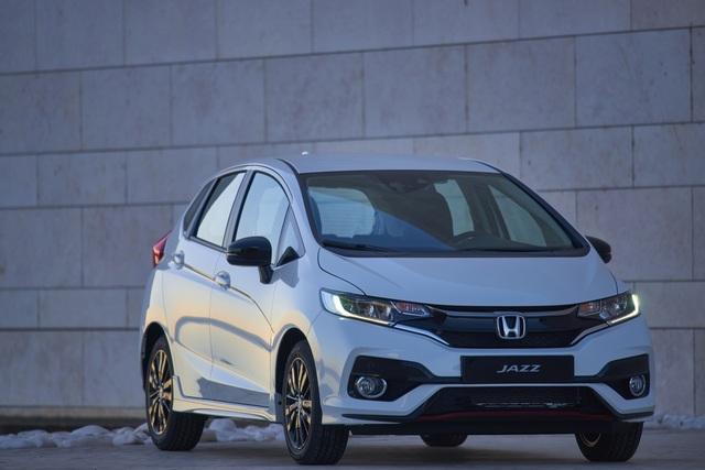 Honda Jazz Facelift - Mehr Musik im Antrieb