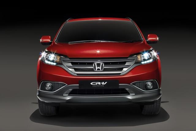 Honda CR-V - Premiere der Europaversion