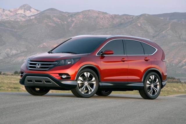 Honda CR-V - So sieht der neue Soft-Roader aus