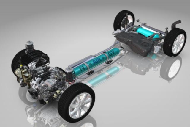 Citroen C3 Hybrid Air-Studie - Rückenwind statt Stromstoß