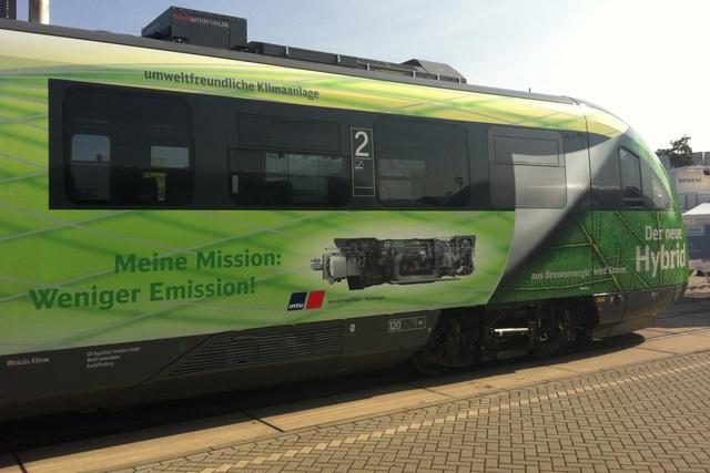 Hybrid-Diesellok - Sparsamer Nahverkehr