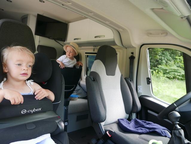 Ratgeber: Mit Kindern im Wohnmobil  - Windeln und Waschgelegenheit
