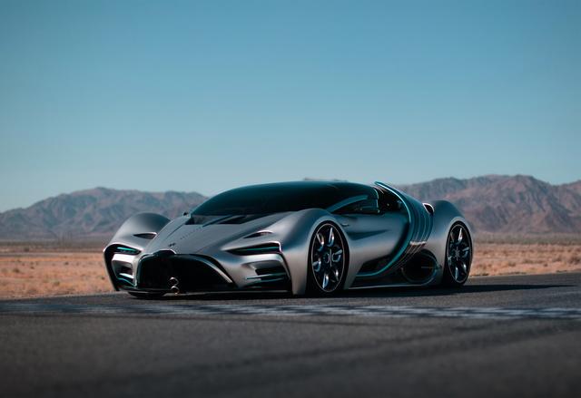 Hyperion XP-1 - Brennstoffzellen-Bugatti