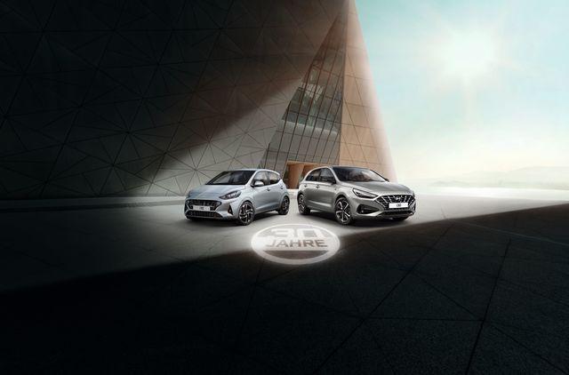 30 Jahre Hyundai in Deutschland  - Sondermodelle zum Jubiläum