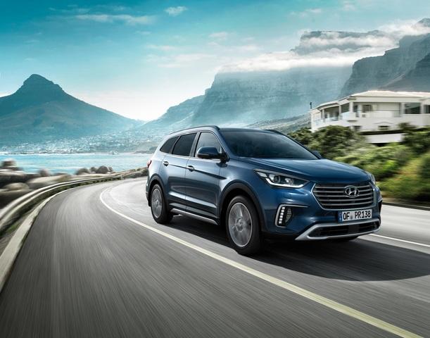 Hyundai Grand Santa Fe - Bremst nun auch für Fußgänger