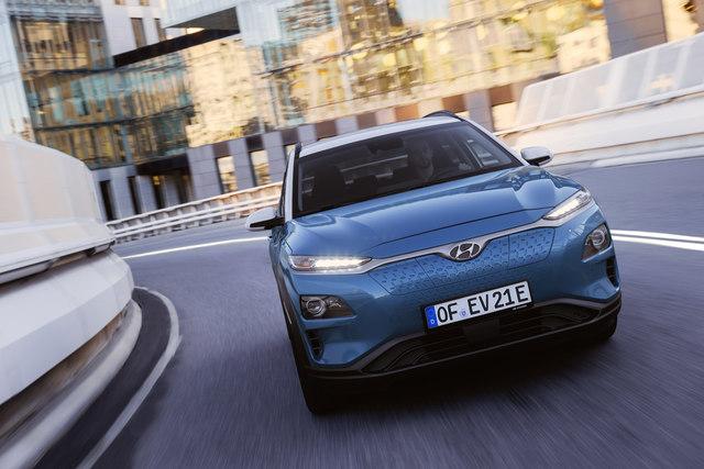 Hyundai Kona Elektro  - Auch der Kleine kommt nun weiter