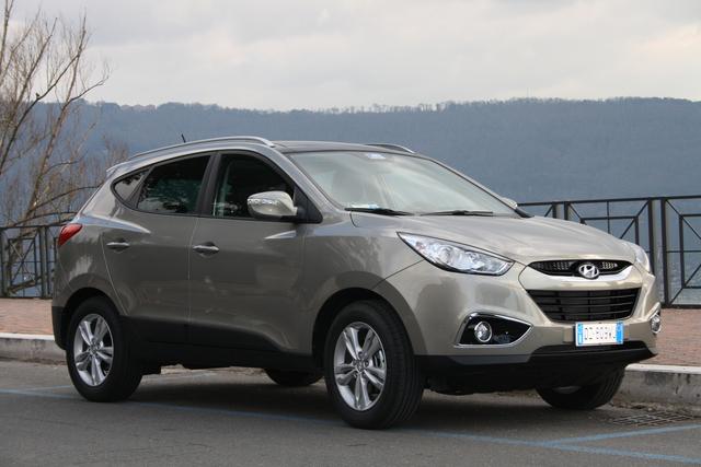 Hyundai ix35: Der koreanische Kompakt-SUV kommt mit fünf Jahren Garantie (kurz)
