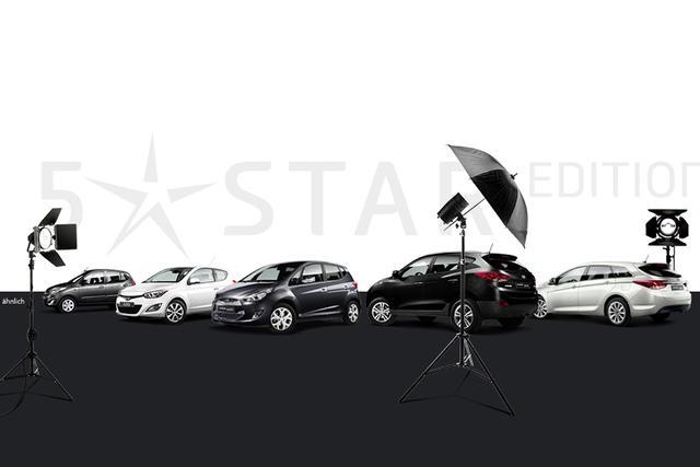 Hyundai Sondermodelle - Sterne mit Preisvorteil