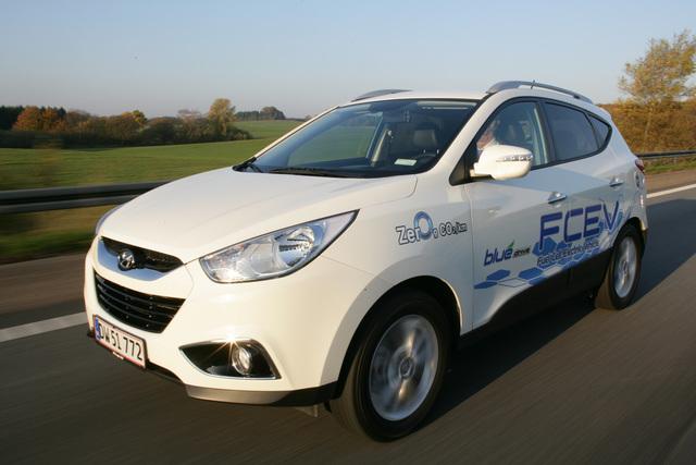 Hyundai ix35 FCEV - Die Brennstoffzelle geht in Serie