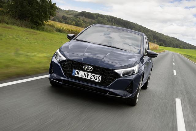 Test: Hyundai i20  - Wie ein Großer