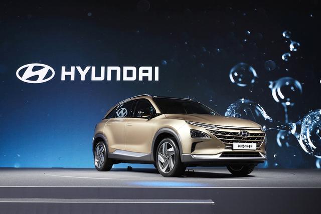 Neues Brennstoffzellenauto von Hyundai  - Ein Sprung nach vorne