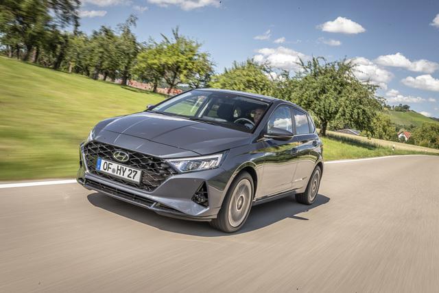 Prototypen-Fahrt Hyundai i20 - Klein wird fein