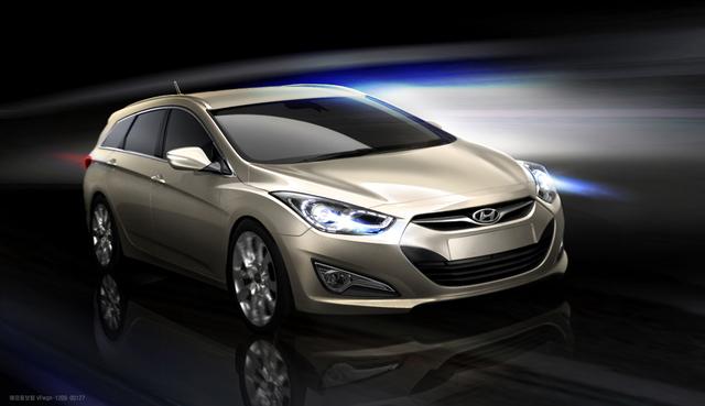 Hyundai i40 cw - Kombi-Premiere für Europa