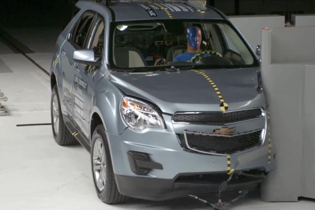 Crashtest mit SUV - Nur vermeintlich sicherer