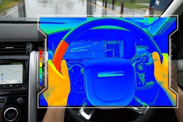 Neuartiges Lenkrad von Jaguar Land Rover - Sprechende Hitze