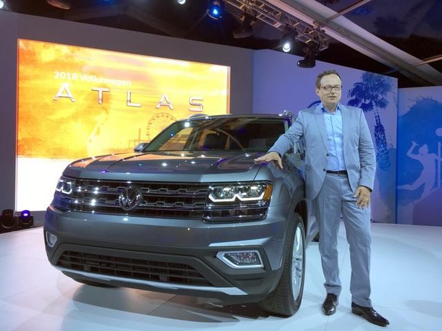 Drei Fragen an Hinrich J. Woebcken, Volkswagen-Chef Nordamerika - Atlas-Importe sind kein Thema