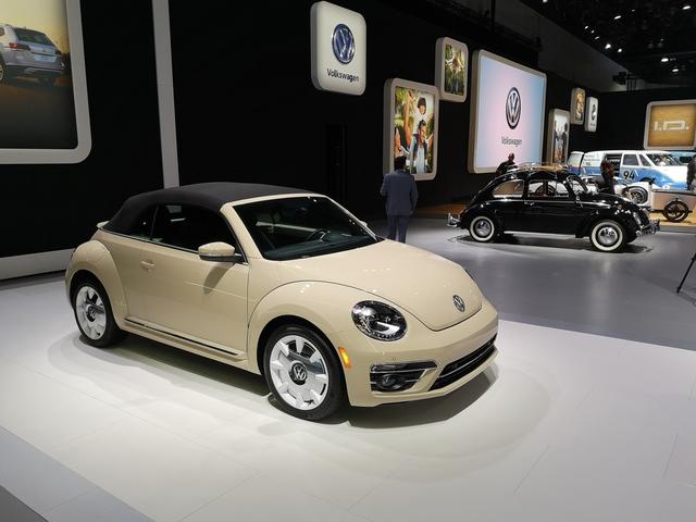 VW Beetle als US-Sondermodell - Abschied vom Käfer